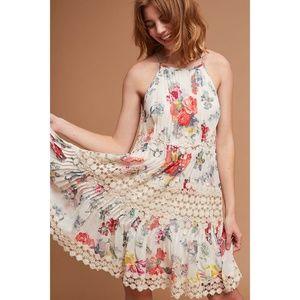 Anthropologie Ranna Gill Kalila Floral Dress Small